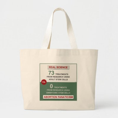 Adult Stem Cell Research Canvas Bag by politix