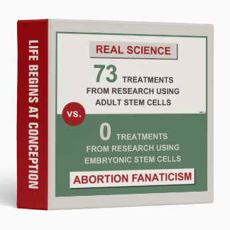 Adult Stem Cell Research Binder