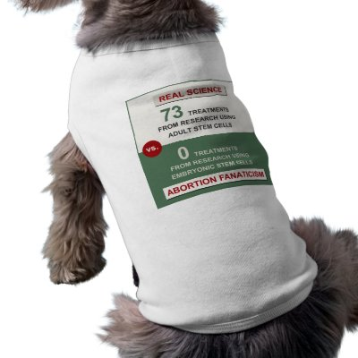 Adult Stem Cell Research Pet Shirt by politix