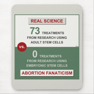 Adult Stem Cell Research Mouse Pad