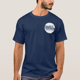 Adult Tee: Large Back Logo with Front Pocket Art T-Shirt