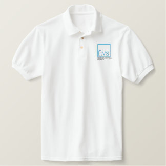 Adult Unisex Embroidered Polo, FLVS Embroidered Polo Shirt
