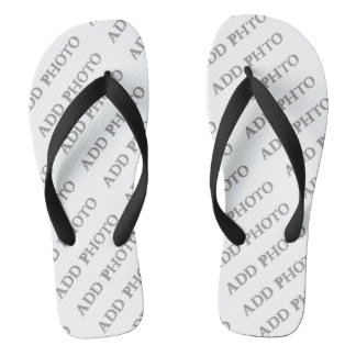 Adult Wide Straps Flip Flops Create Your Own