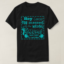 Adult You messed with wrong mom Cancer shirt