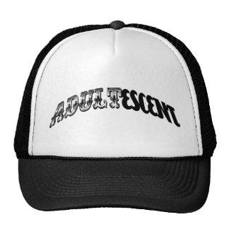 adultescent mesh hats