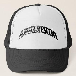 adultescent trucker hat