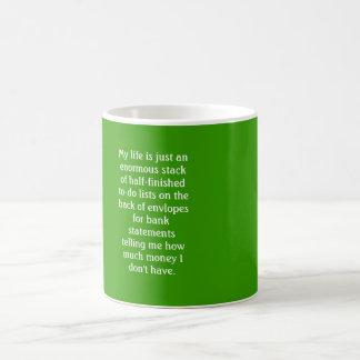 Adulthood Ain't So Great Coffee Mug