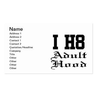 adulthood business card
