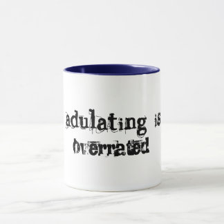 adulting is over rated funny coffee mug gift idea