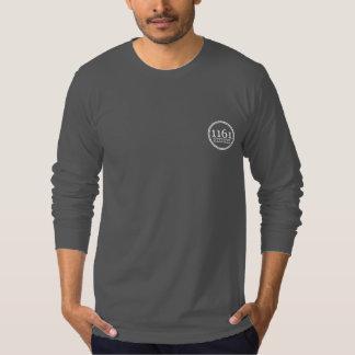Adulto del cangrejo azul/la camiseta playera