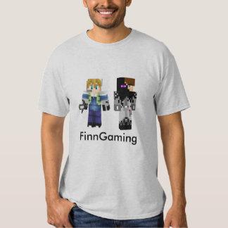 Adulto M de la camiseta de FinnGaming Playera