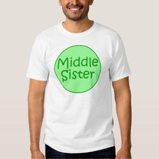 Adulto medio T de la hermana Playeras