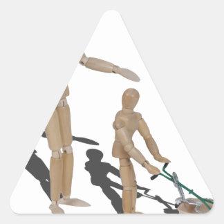 AdultSuperviseChildPushLawnMower042014.png Triangle Sticker