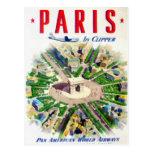 Adv del americano de la cacerola de París del vint Tarjetas Postales