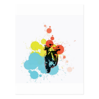 Adv Riding Colorfull Postcards