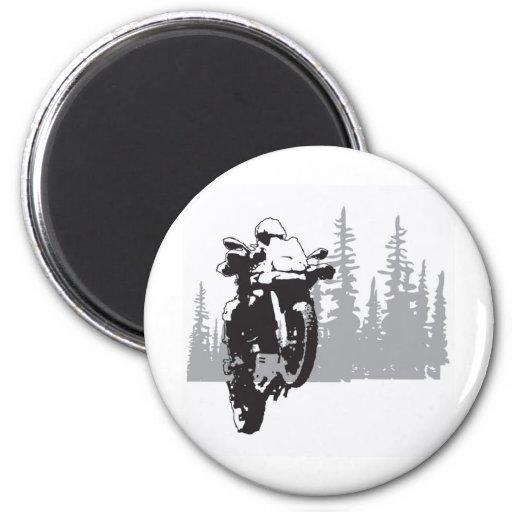 Adv Riding Fridge Magnet