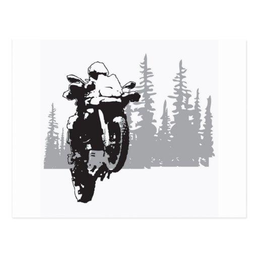 Adv Riding Postcard