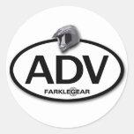 ADV Sticker! Classic Round Sticker