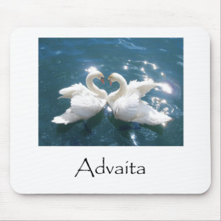 Advaita Swans Mouse Pad
