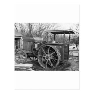 Advance Rumely Tractor, 1936 Postcard