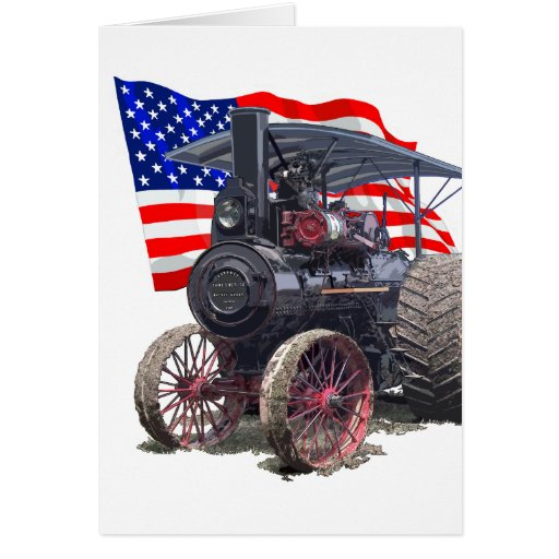 Advance Steam Traction Engine Card