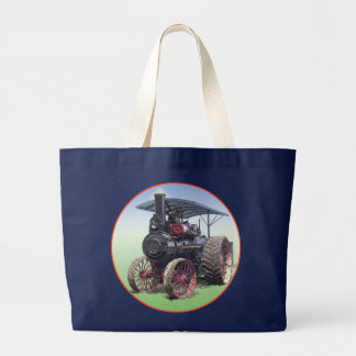 Advance Steam Traction Engine Large Tote Bag
