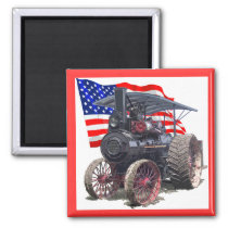 Advance Steam Traction Engine Magnet