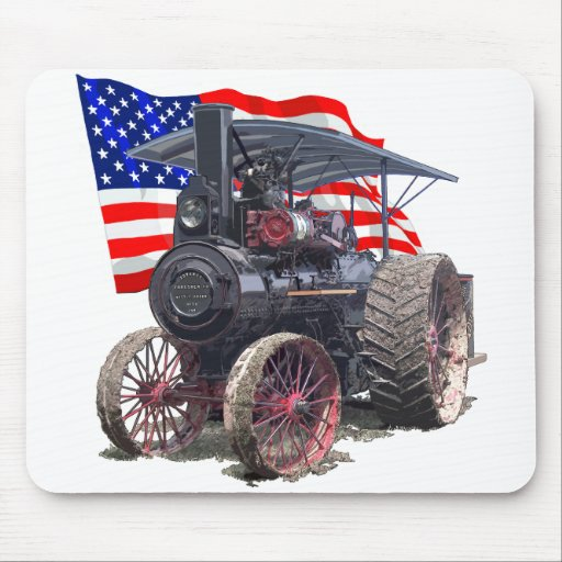 Advance Steam Traction Engine Mouse Pad