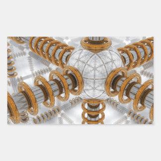 Advanced Automation Rectangular Sticker