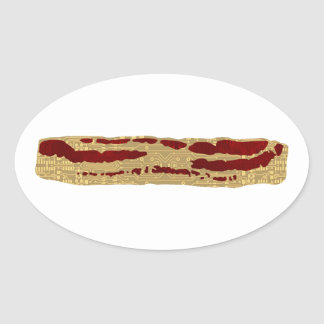 Advanced Bacon Technology Oval Sticker