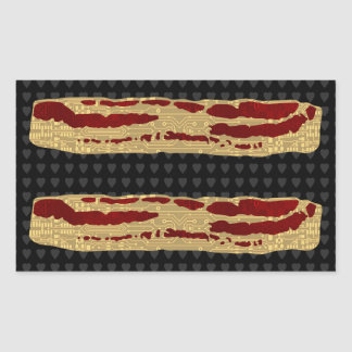 Advanced Bacon Technology Rectangular Sticker