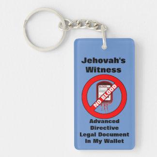 Advanced Directive Key Chain, No blood Keychain