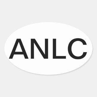 Advanced Nurse Lactation Conultant Oval Sticker