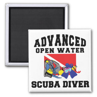 Advanced Open Water SCUBA Diver Magnet