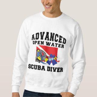 Advanced Open Water SCUBA Diver Pullover Sweatshirt