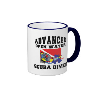 Advanced Open Water SCUBA Diver Ringer Mug