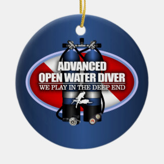 Advanced Open Water (ST) Ceramic Ornament