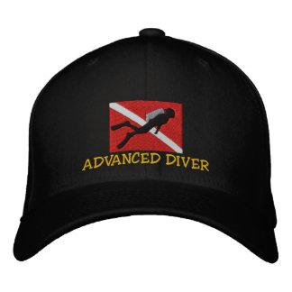 Advanced SCUBA Diver Embroidered Cap