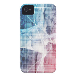 Advanced Technology and Science Abstract iPhone 4 Case-Mate Case