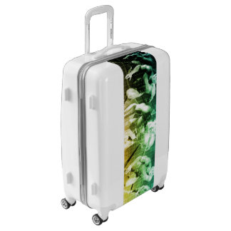 Advanced Technology as a IT Concept Background Luggage