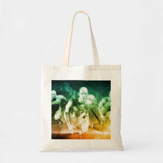 Advanced Technology as a IT Concept Background Tote Bag