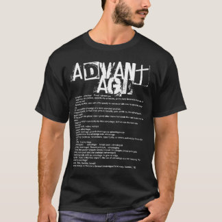 Advantage Grunge Distressed Definition T-shirt