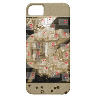 Advent calendar with nikolaus iPhone SE/5/5s case