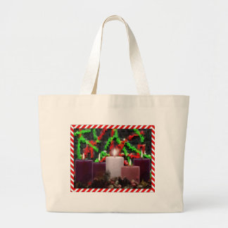 Advent Candles Tote Bag