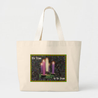 Advent Candles Tote Bags