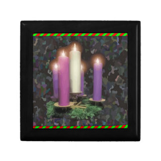 Advent Candles Jewelry Box