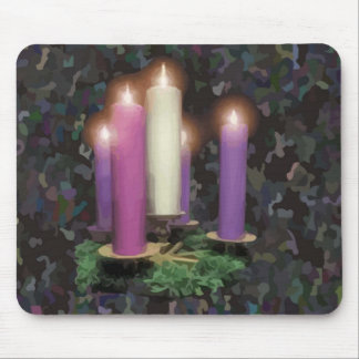 Advent Candles Mousepads