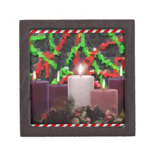 Advent Candles Premium Keepsake Boxes