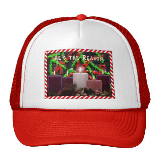 Advent Candles Trucker Hat