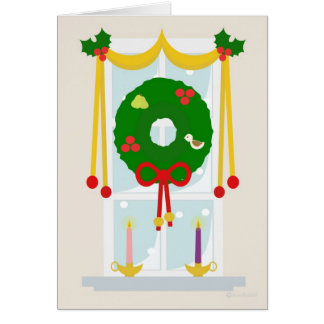 Advent Inspired Christmas Window Cards